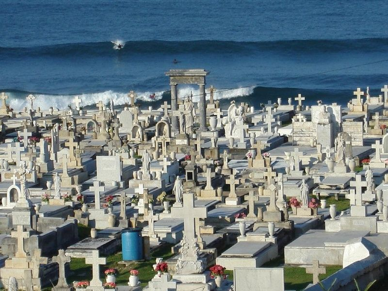 Going to the Old San Juan Cemetary is one of the fun things to do in san juan puerto rico