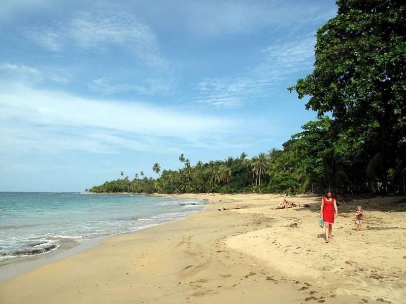 Playa Punta Uva is one of the most beautiful places to visit in Costa Rica