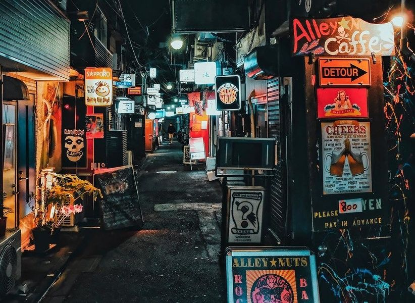 Golden Gai Things to do in Tokyo at N...