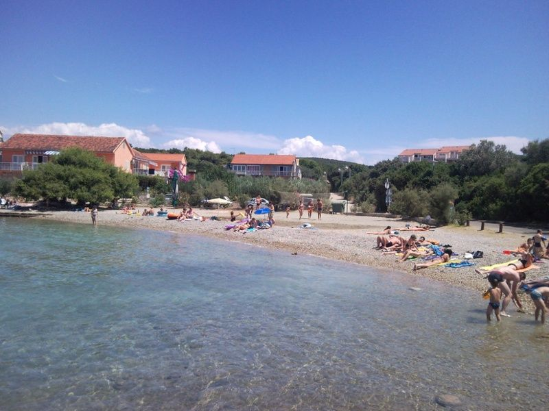 Exploring the beaches in Korčula is one of the best things to do in Croatia