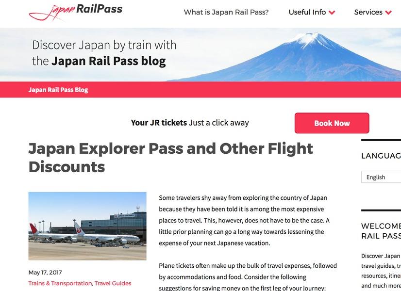 Japan Rail Pass Japanese Travel Blogs