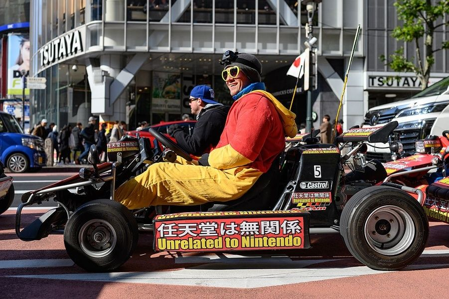 Going on a tour via go-karts in Tokyo is an activity that TripAdvisor Japan adores