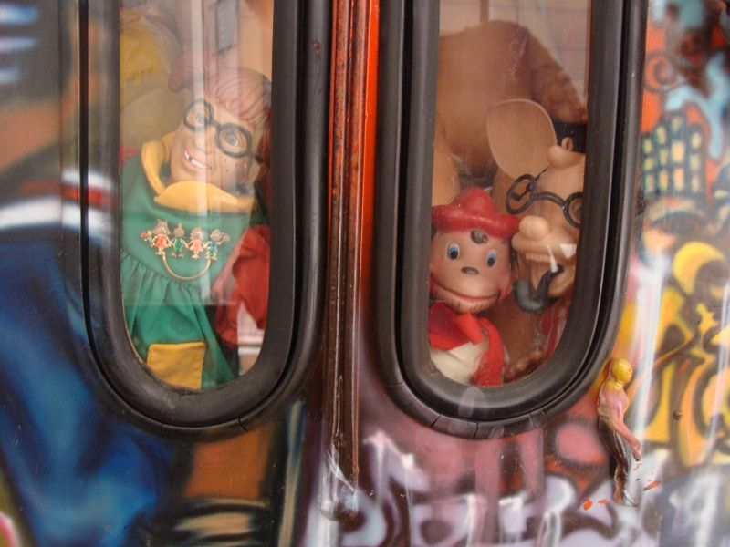 Old Toy Museum in Mexico City