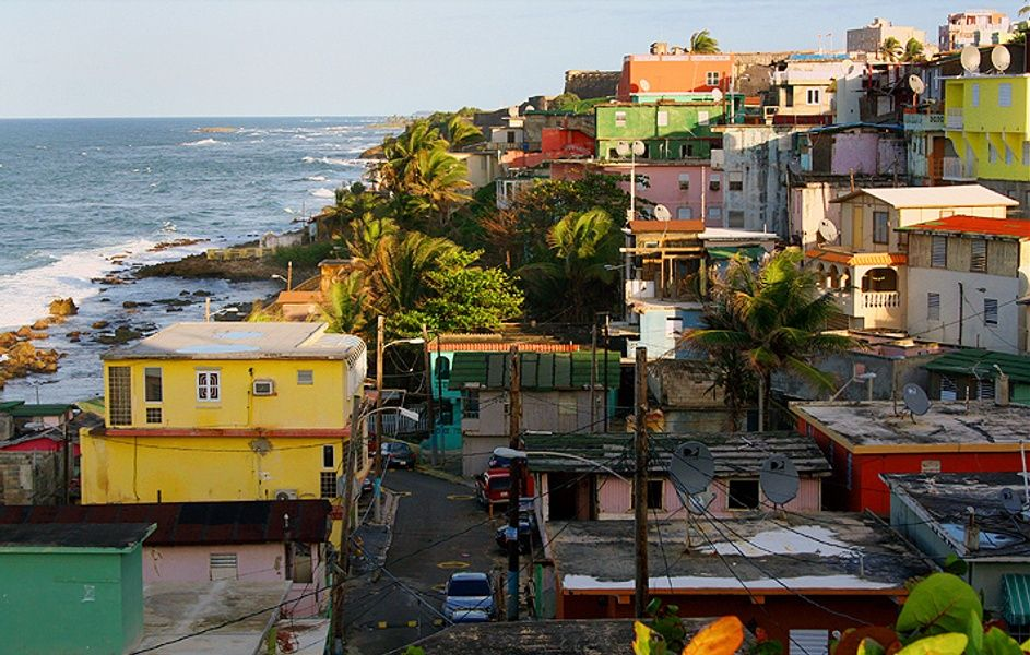 Colorful La Perla is one of the best attractions in San Juan