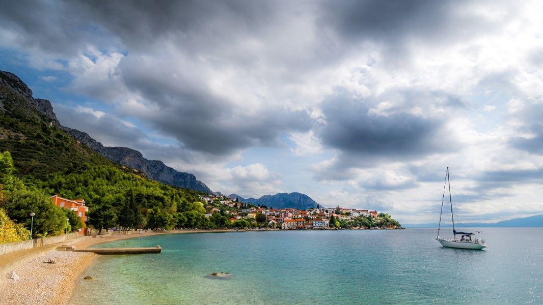 Sailing the Adriatic Sea is one of the best things to do in Croatia
