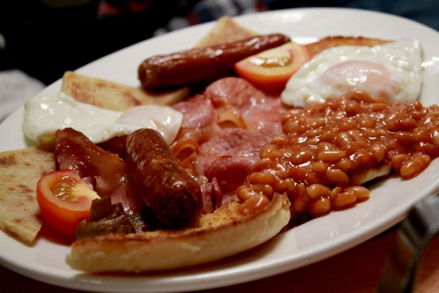 Indulging in an Ulster Fry is one of the most delicious things to do in Northern Ireland