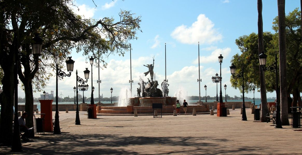 Paseo de la Princesa is a beautiful attraction in San Juan