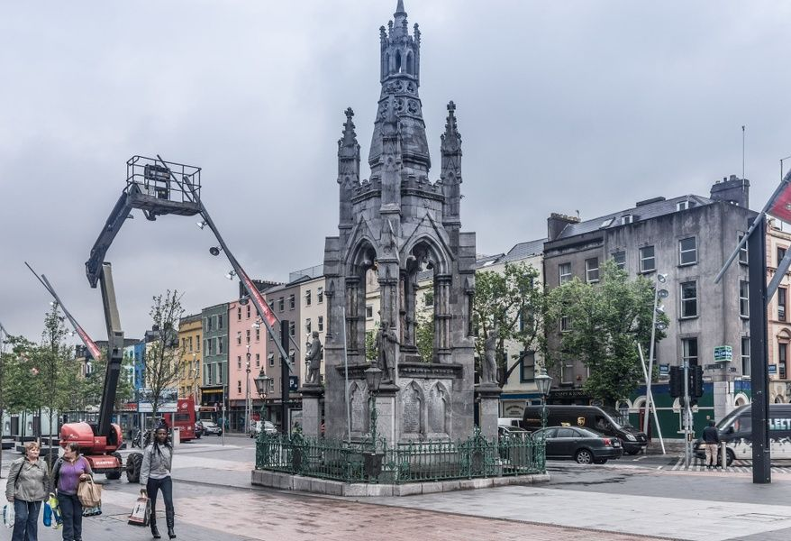 Celebrating Irish history at the national monument is an awesome thing to do in Cork Ireland