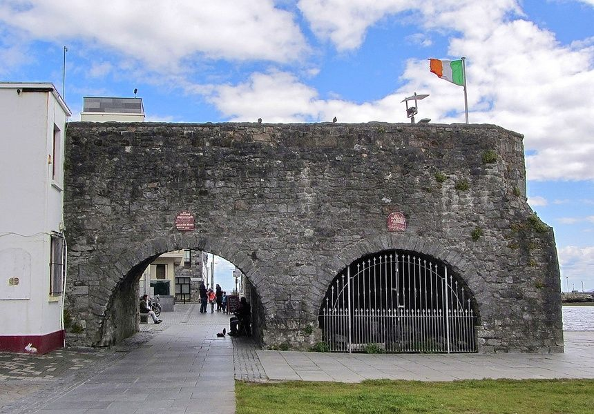 Visiting the Spanish Arch is a cool thing to do in Galway Ireland