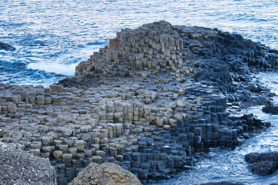 Giant's Causeway is a cool place to visit in Ireland