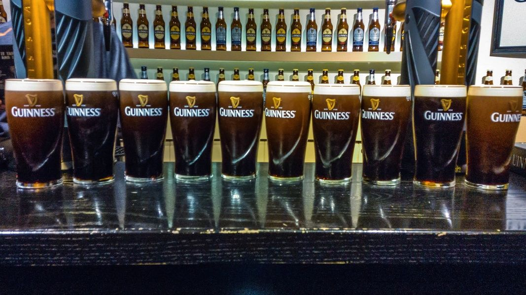 The Guinness Factory is a fun (and necessary) place to visit in Ireland