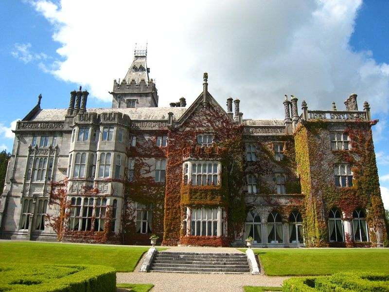 Booking a stay at the luxe Adare Manor is one of the best things to do in Limerick