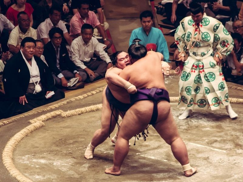 What to do in Tokyo in 3 days? Definitely check out a sumo match
