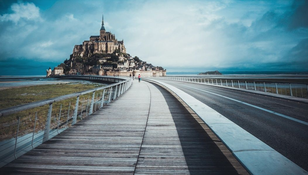 Mont Saint-Michel is one of the most unique places to stay in France