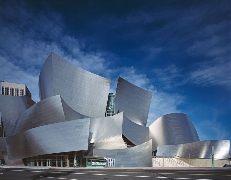 The gorgeous Walt Disney Concert Hall offers tons of things to do in LA