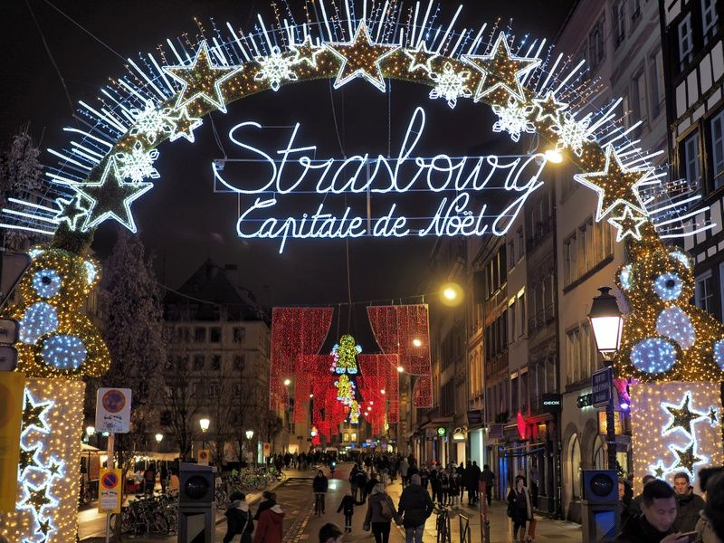 Exploring Strasbourg's Christmas markets is a great thing to do in France