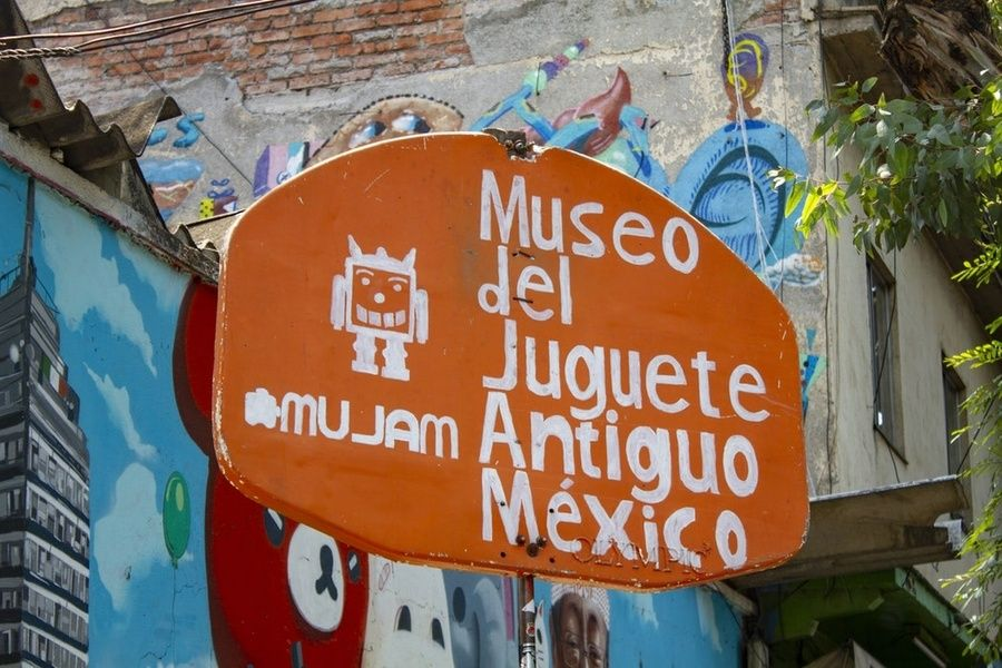 One of the best museums in Mexico City is the Old Toy Museum