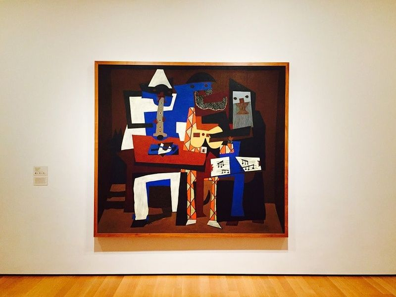 MoMA is an awesome museum and one of the best places to visit in New York