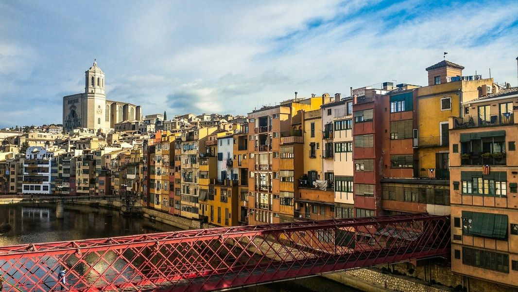 Girona is a wonderful place to visit in Spain