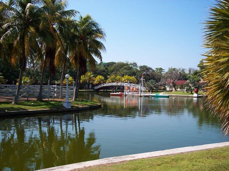 Varadero Park in Cuba