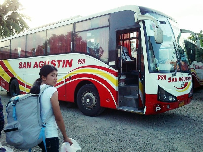Buses are a good form of transportation in the Philippines