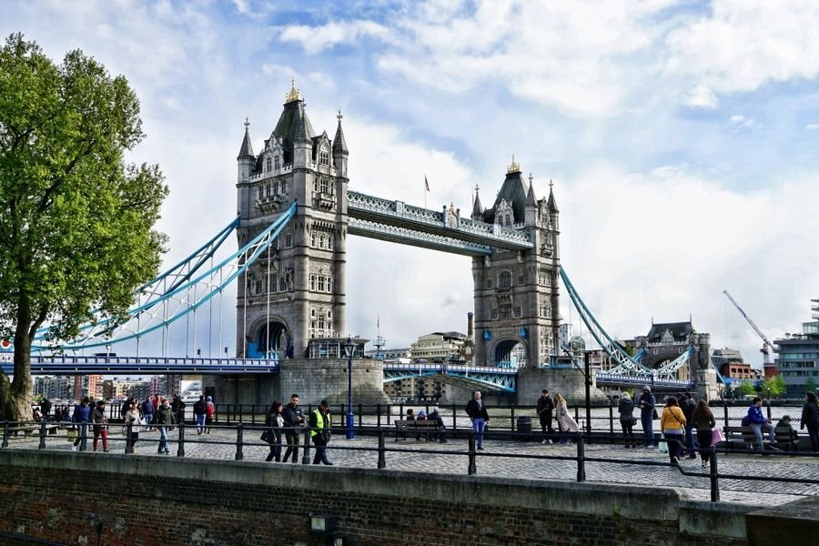 The London Bridge is an iconic place to visit in London