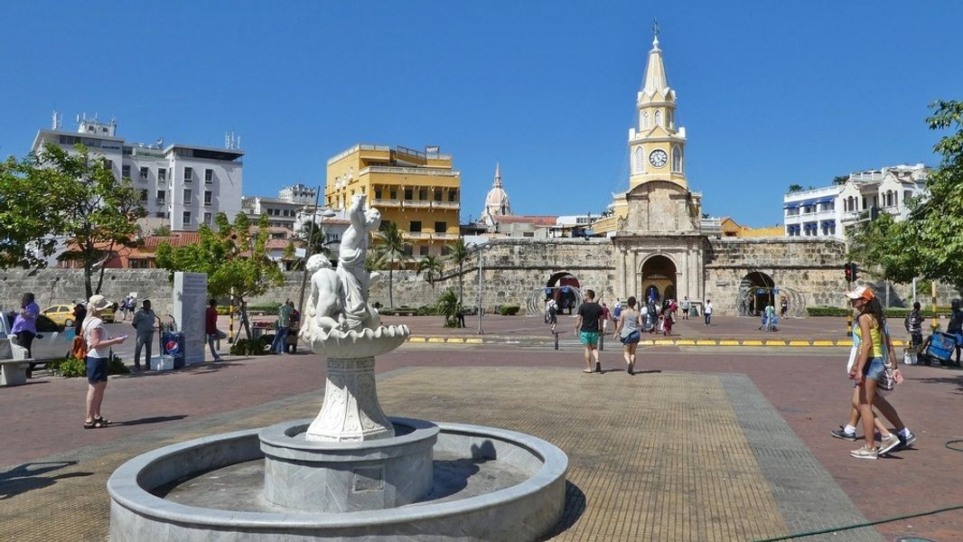 Cartagena is a great city to visit in Colombia