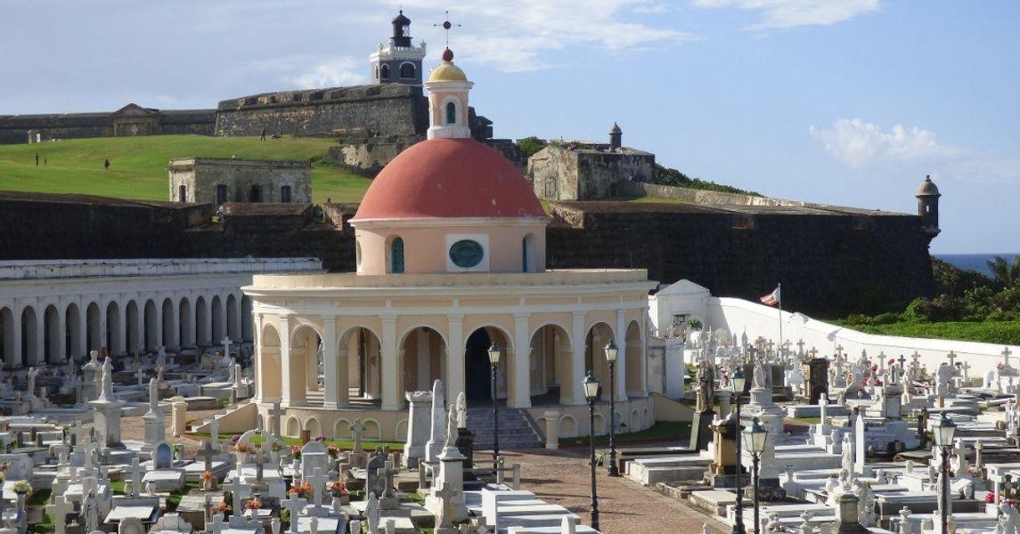 Santa Maria Magdalena de Pazzis Cemetery Puerto Rico Landmarks