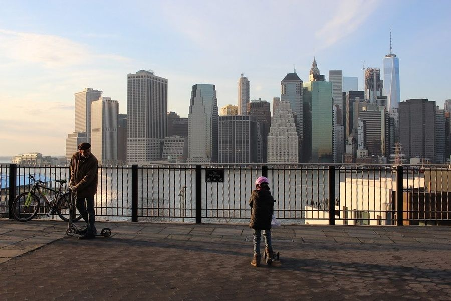 For a breathtaking view, the Brooklyn Heights Promenade is a great place to visit in New York City