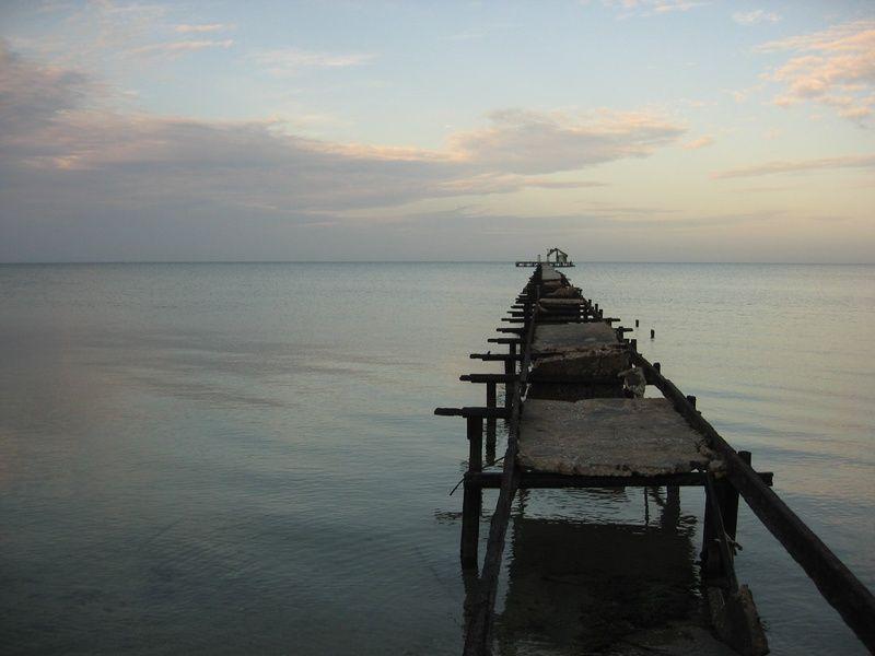 pier on the beach in Isla de la Juventud Cuba's 7 Wonders