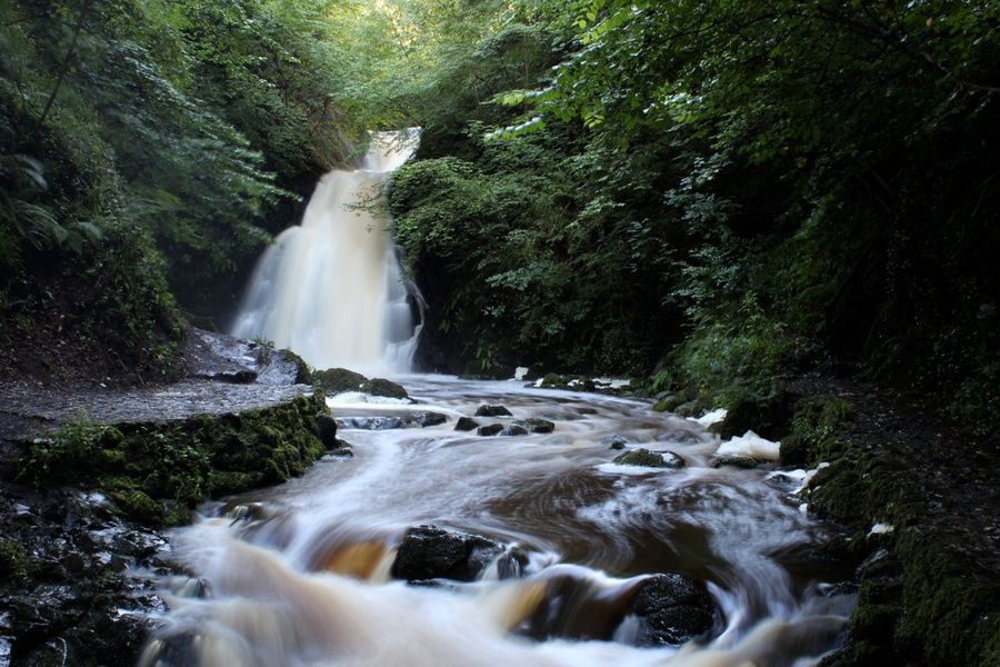 Escaping to Glenoe Waterfall is a great thing to do in Puerto Rico