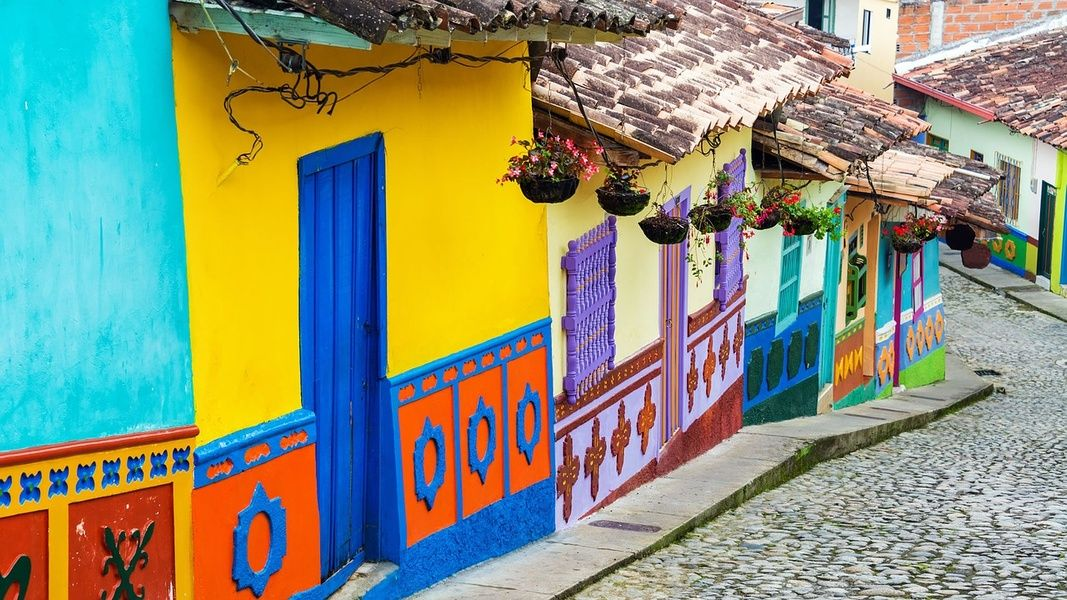 Beautiful Bogota is a famous place in Colombia beloved by all