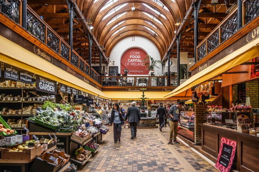 Eating at the English market is a great thing to do in Cork