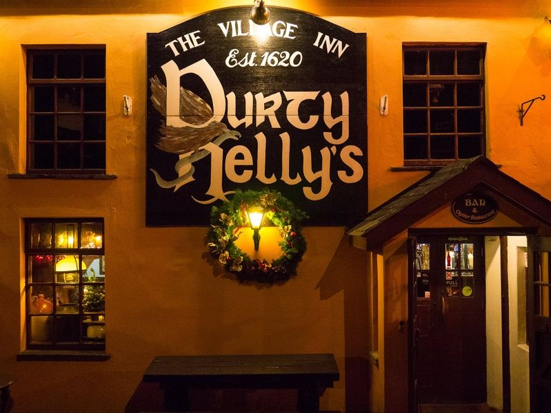 Drinking at Durty Nelly's is one of the best things to do in Shannon Ireland