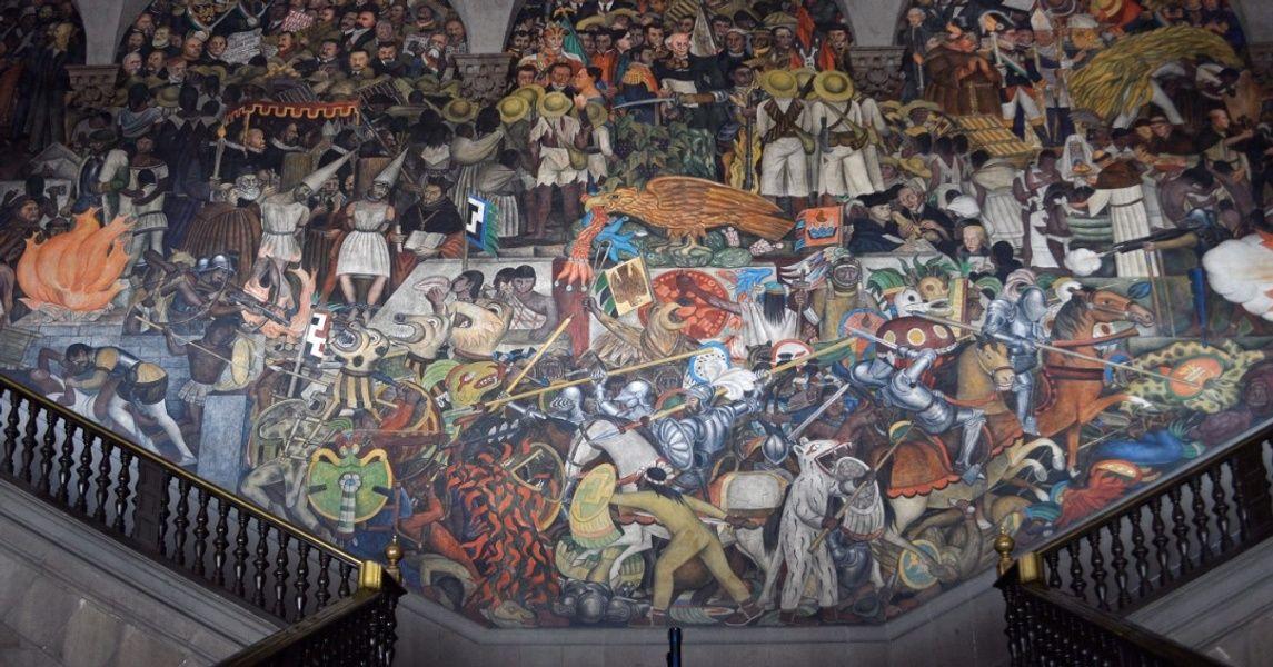 El Palacio Nacional Places To Visit In Mexico City
