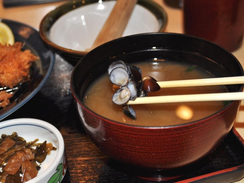 miso soup in Tokyo is a Japanese destination for foodies