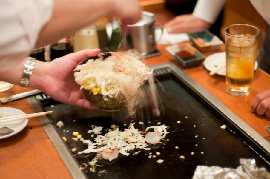 Monkayaki in Tokyo is a Japanese destination for foodies
