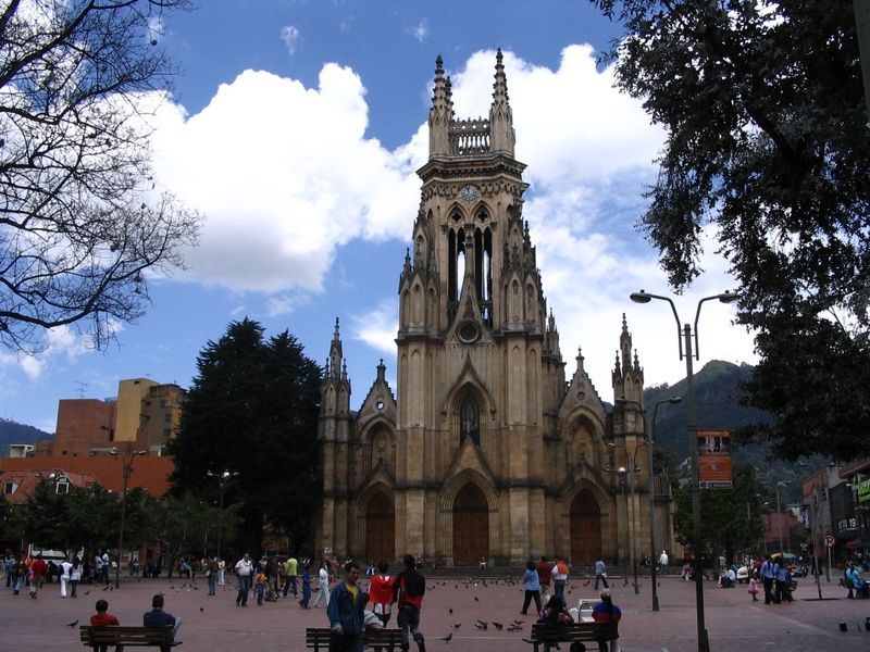 Iglesia Nuestra Senora de Lourdes Bogota Itinerary