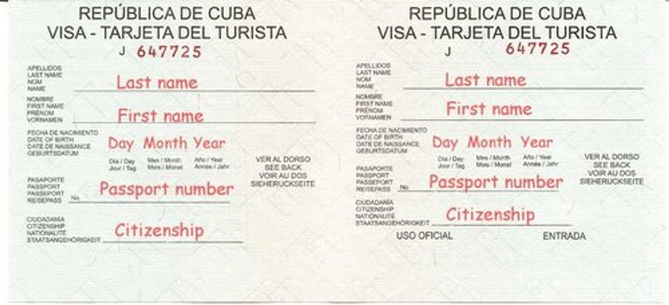 cuban tourist card how to get viahero