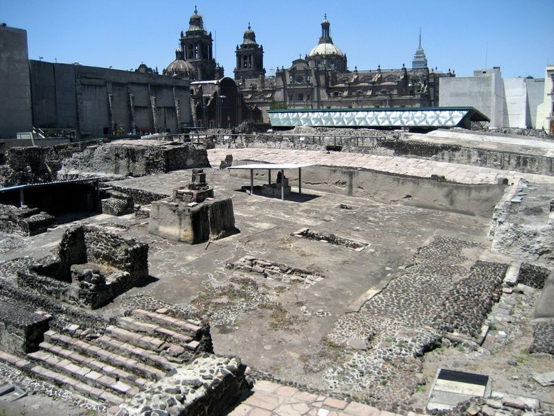 Templo Mayor  is one of the greatest Mexico City attractions