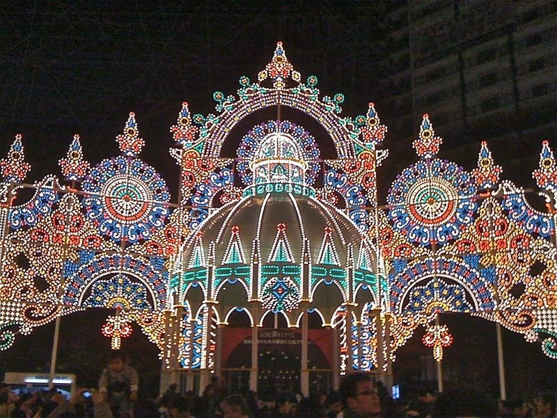 Luminarie is what to do in Kobe Japan