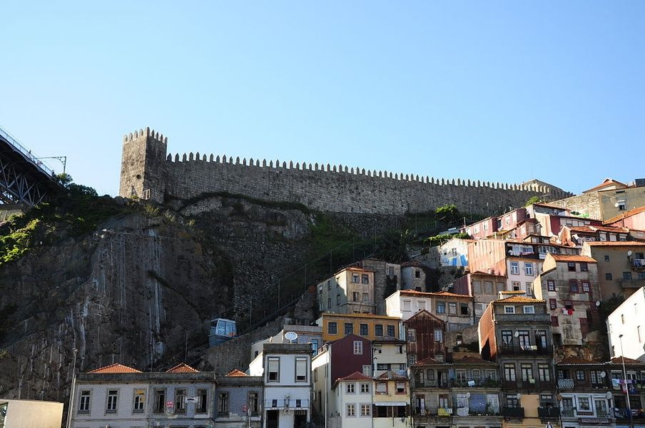 Muralha Fernandina is an incredible place to visit in Portugal