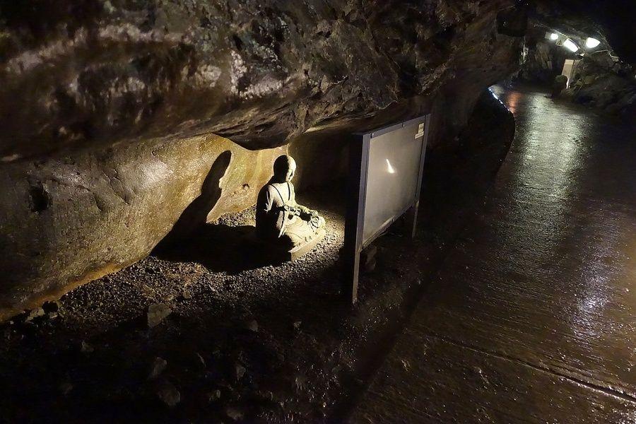 Iwaya Caves in Japan