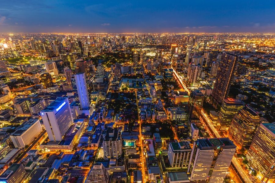 Taking in the view from the King Power MahaNakhon is one of the best things to do in Thailand