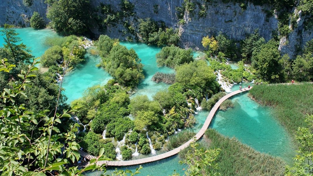Plitvice Lakes National Park is one of the best places to visit in Croatia