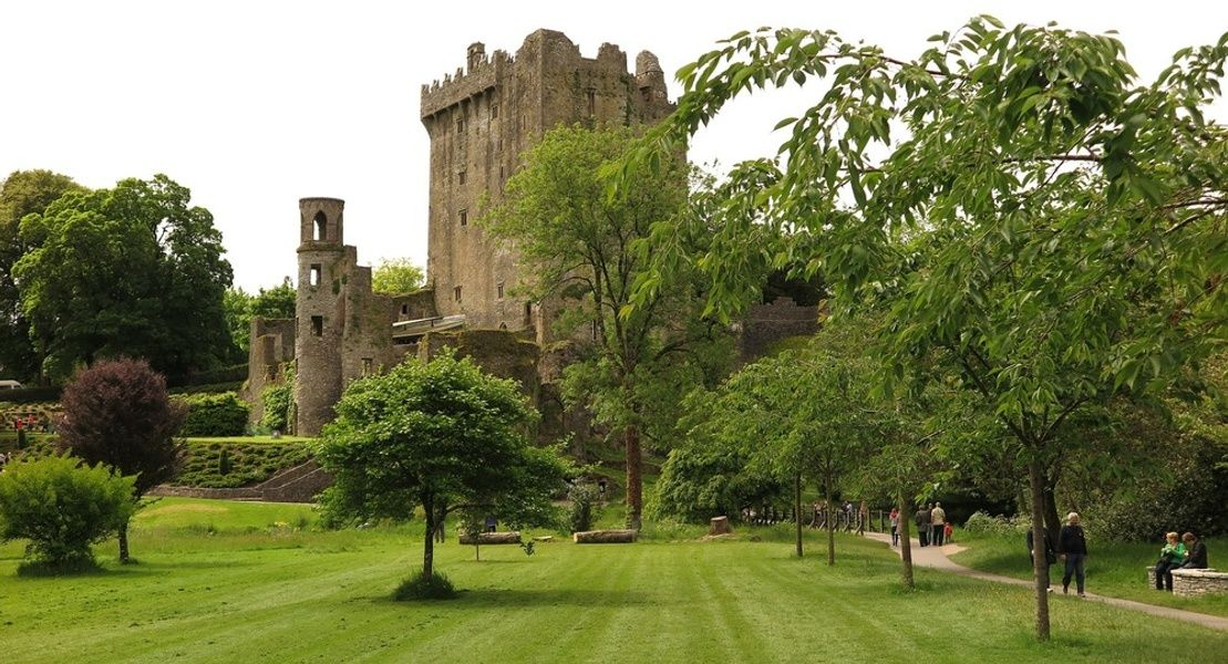 Visiting Blarney Castle is a great thing to do in Ireland with kids