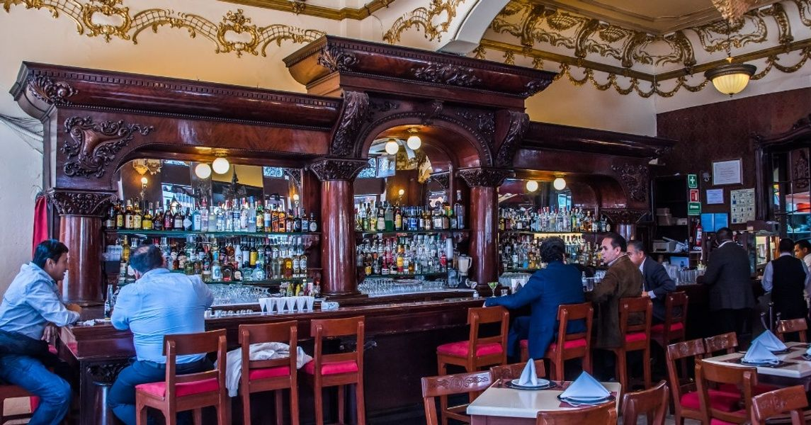La Opera Bar Places To Visit In Mexico City