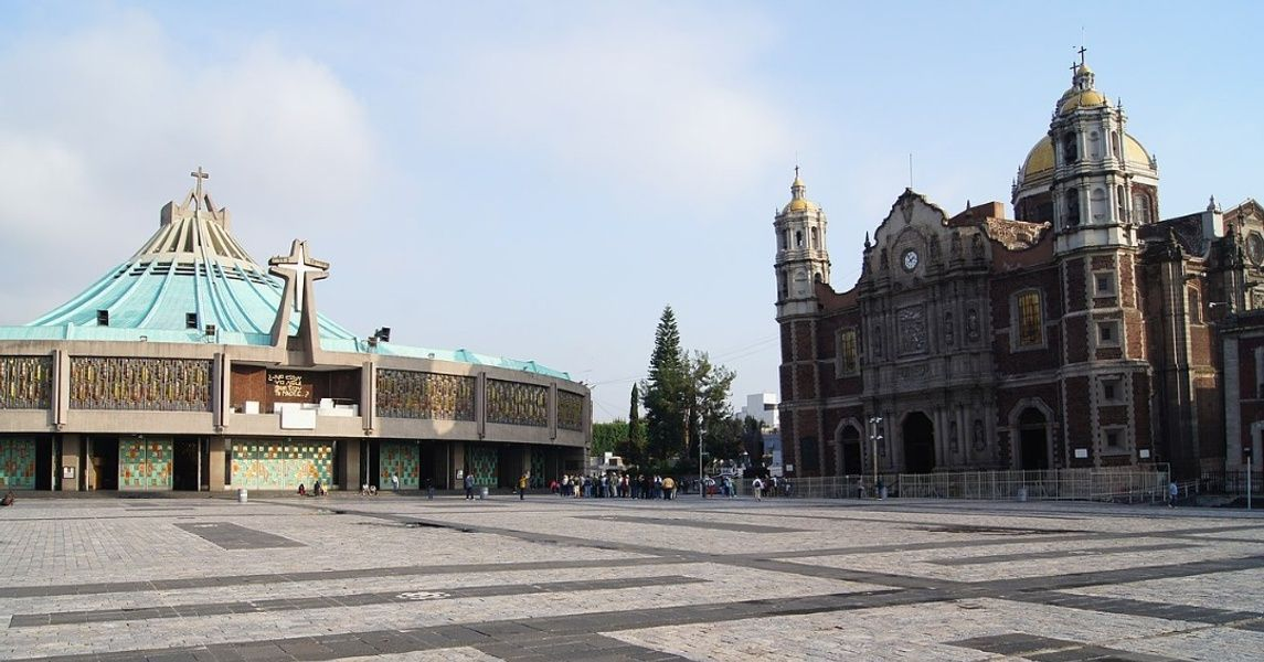 Basilica Of Our Lady Of Guadalupe Mexico City Landmarks