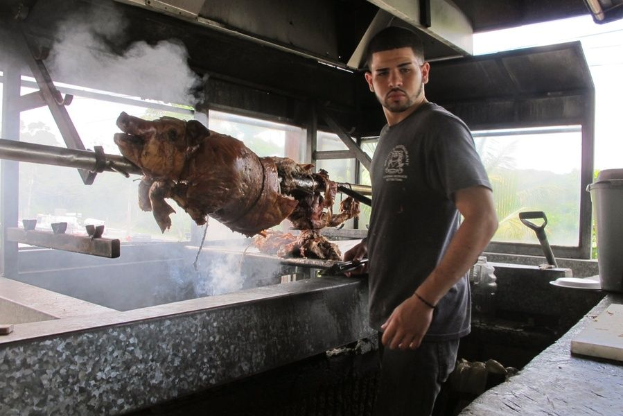 Pork Highway is one of the Best Places to Visit in Puerto Rico