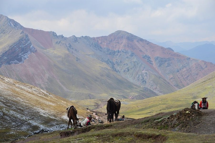 Horseback riding is one of the best things to do in Peru